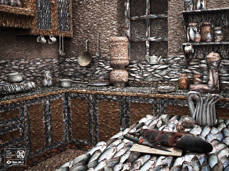 Bajaj Exhaust Fans - Освободите свою кухню от запаха рыбы