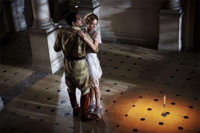 Camille Rowe / Камиль Роу в фотосессии -Великий Гэтсби- в журнале Elle Франция, май 2012 / фотограф David Vasiljevic