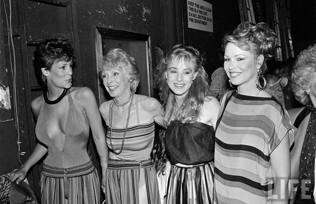 Jamie Lee Curtis, Janet Leigh, Chynna Phillips and Michelle Phillips