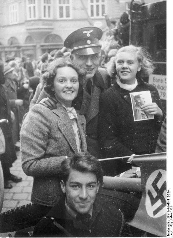 Аншлюс в Зальцбурге. 13 марта 1938 года.