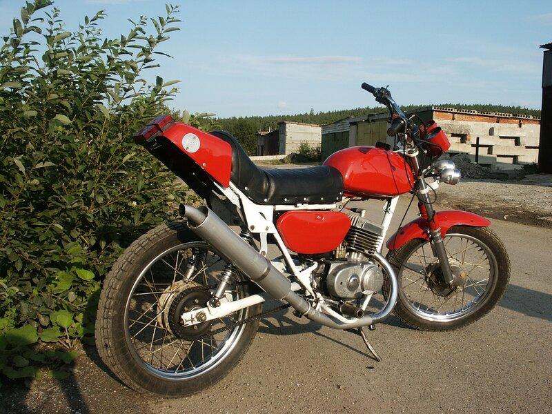Мотоцикл минск тюнинг своими руками фото
