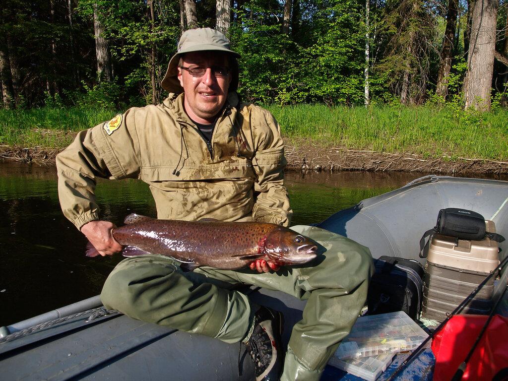 моя рыбная ловля  вроде захватить  ленка