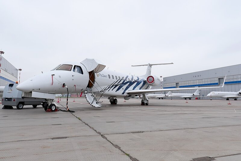 Embraer ERJ-135BJ Legacy 600 (VP-BGL) RusJet DSC_1058