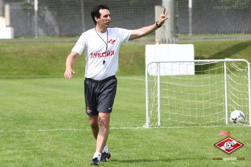 Первая тренировка «Спартака» под руководством Унаи Эмери (Фото)