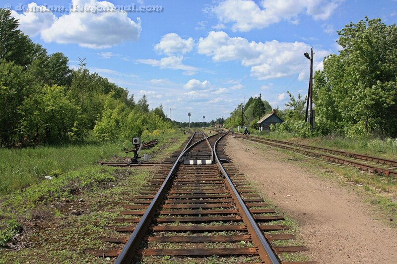Станция Калязин. Восточная горловина.