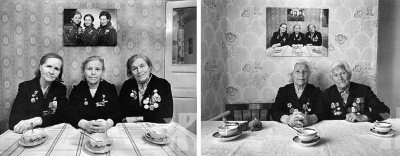 Три сестры, три «отрезка» времени, три фото