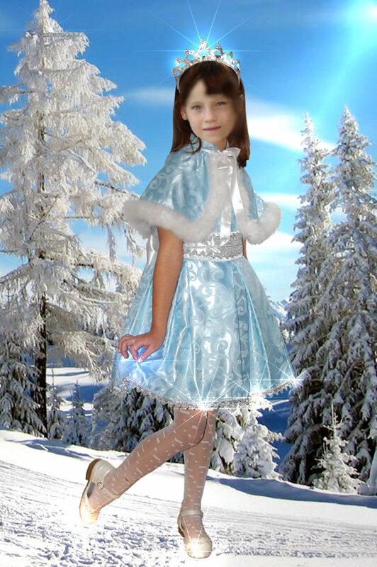 Костюмы снегурочки своими руками для девочек