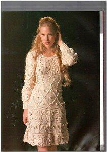 Тёплая история в платье от Viktoria