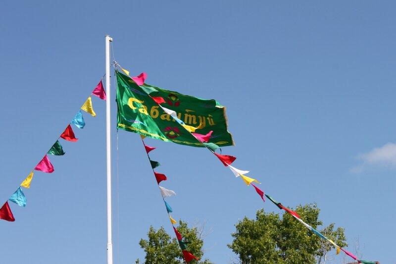 Флаг сабантуя в Тольятти 2012