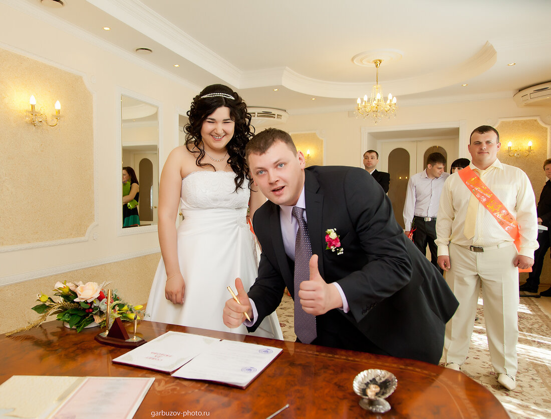 Свадьба Ирины и Олега.