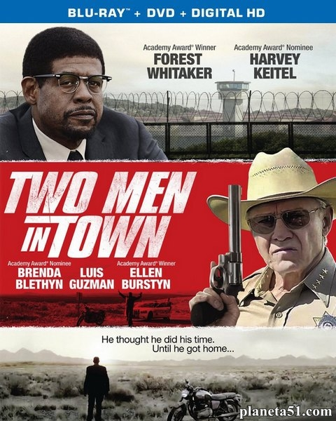 Двое в городе / Two Men in Town (2014/BDRip/HDRip)