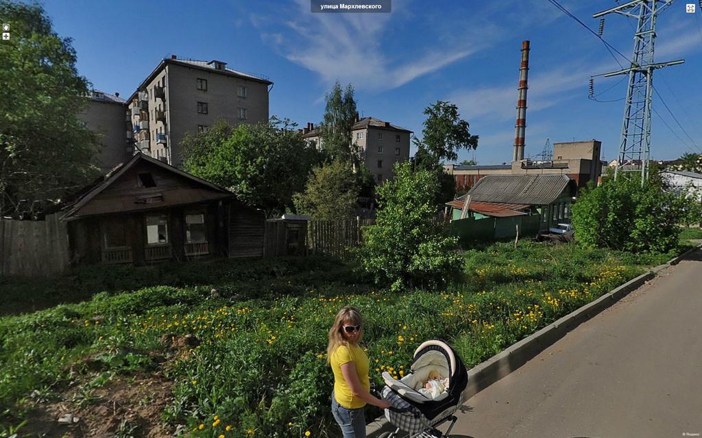 Иваново, улица Мархлевского.
