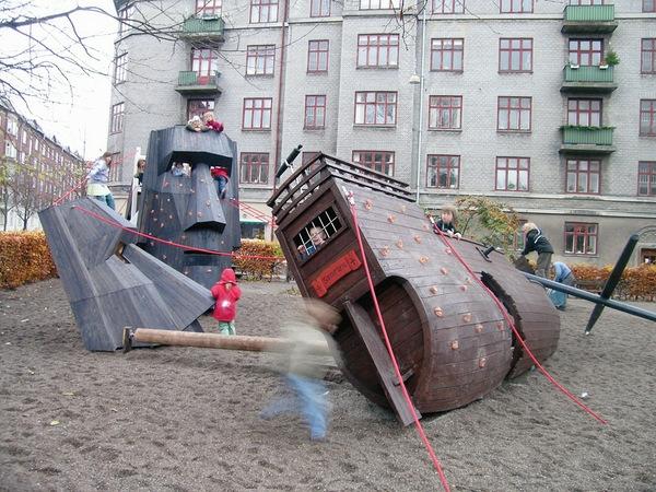 Креативный дизайн детских площадок