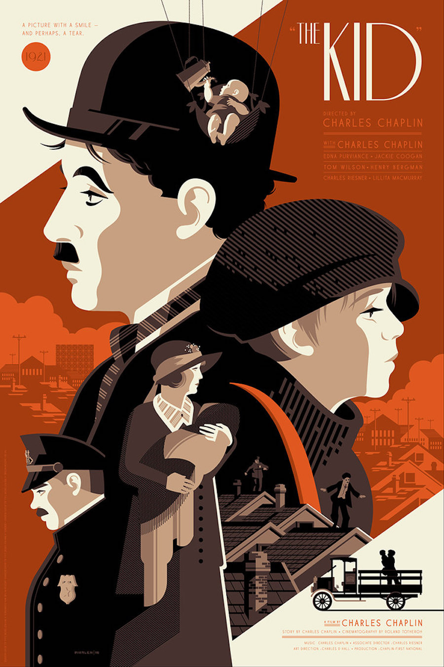 Artwork by Tom Whalen.