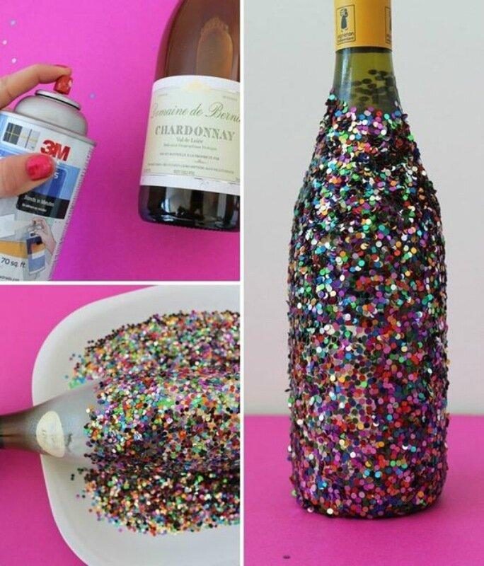 Идеи оформления бутылок