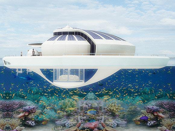 яхта дом