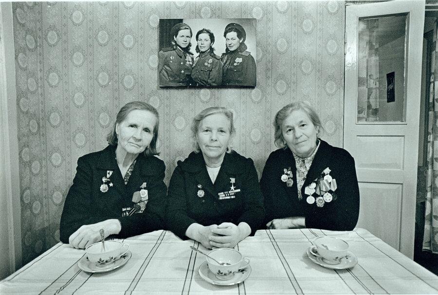 Боевые подруги. Фотограф Павел Кривцов.