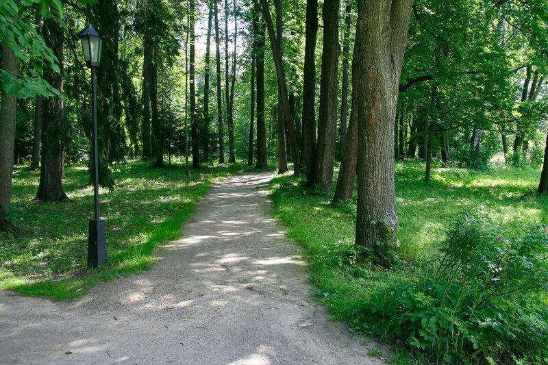 Абрамцево, парк