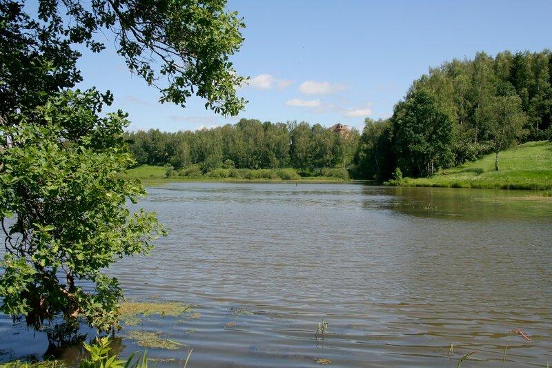 Абрамцево, река Воря