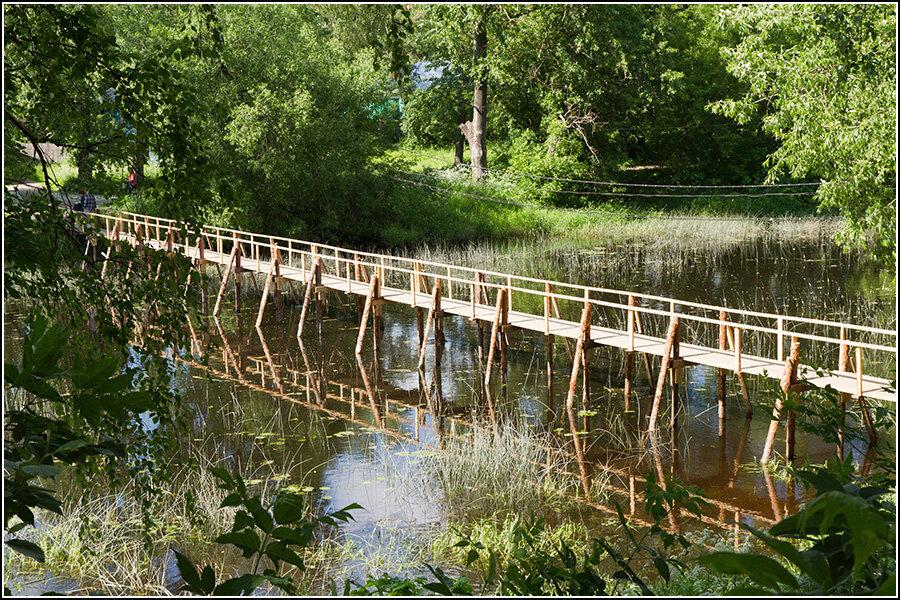 Мост через реку Кашинку