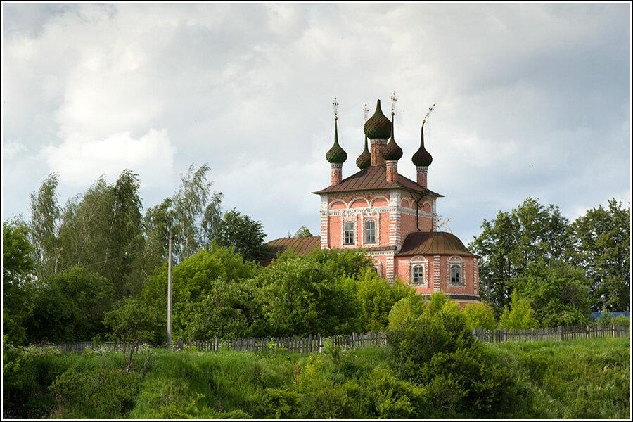 Церковь Ильи Пророка в Кашине