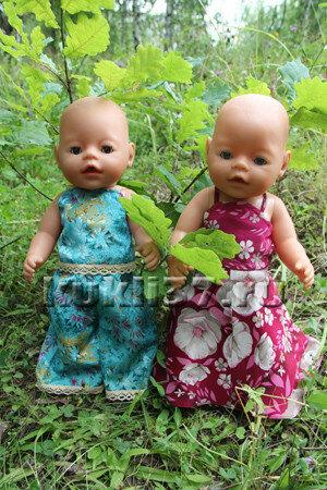 топ для куклы Baby Born