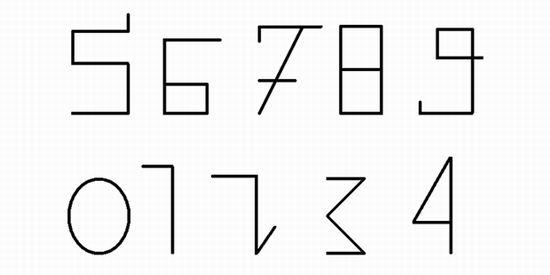 История происхождения знаков и цифр