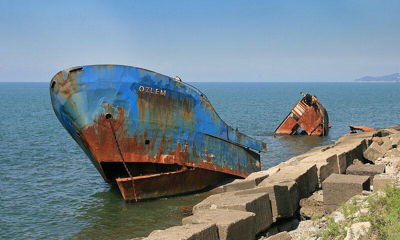 Мир заброшенных кораблей