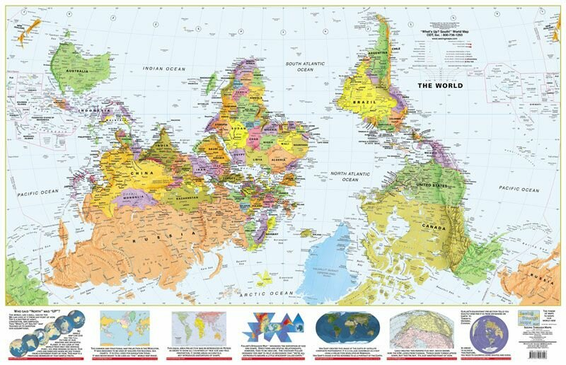 Секреты карты мира