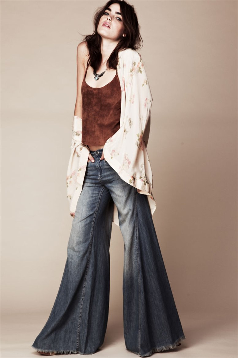 Bambi Northwood-Blyth / Бэмби Нортвуд-Блиф в каталоге одежды Free People, июль 2011