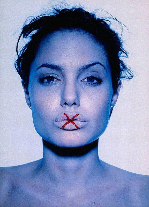 Angelina Jolie by Frank.W.Ockenfels