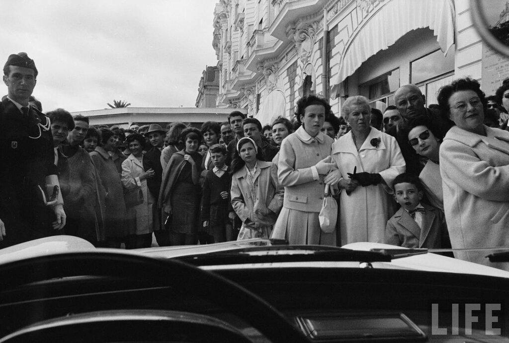 Cannes Film Festival 1962 Paul Schutzer