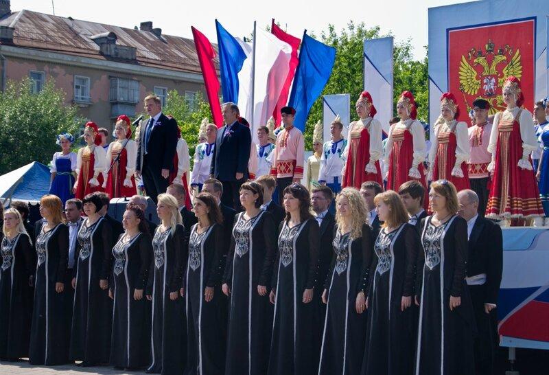 День России 12 июня 2012 г.