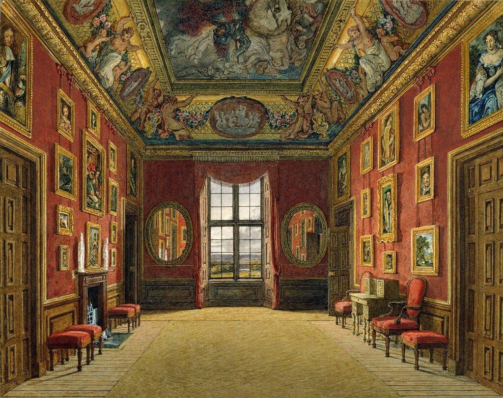 Виндзорский замок: Короля гардероб, 1816