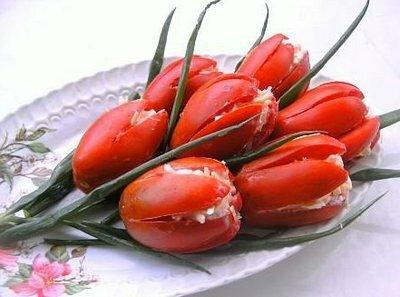 "Салат ""Тюльпаны"""