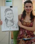 портрет-шаржи на мероприятих