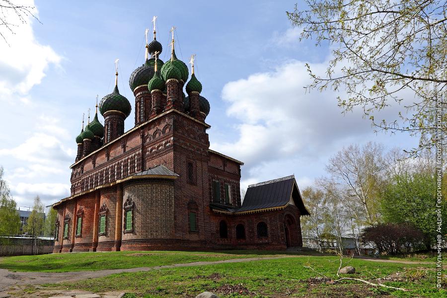 Церковь Усекновения главы Иоанна Предтечи в Толчкове