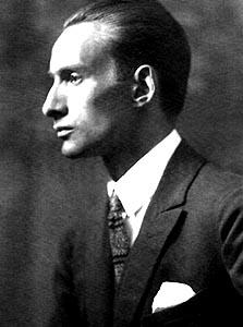 Кристиан Шад, фото, 1912