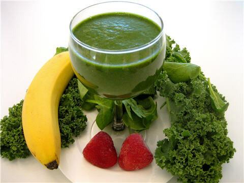 Зелёные коктейли - полезные и вкусные рецепты