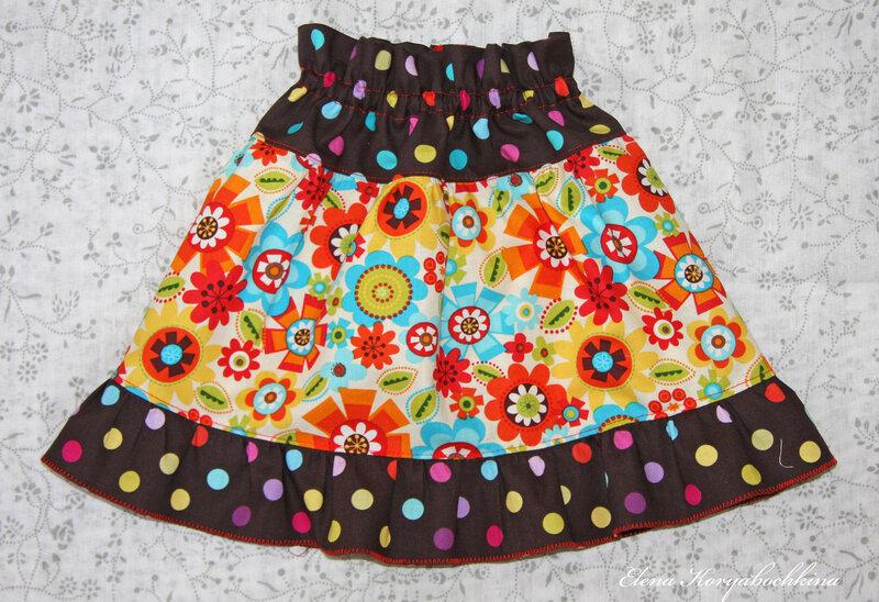 Шьем юбку с запахом.  Несколько вариантов пошива и видео мастер-класс.