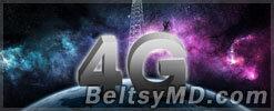Услуга связи 4G в Молдове