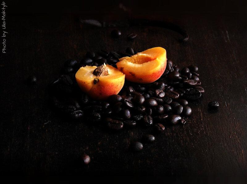 Джем из абрикосов с кофе