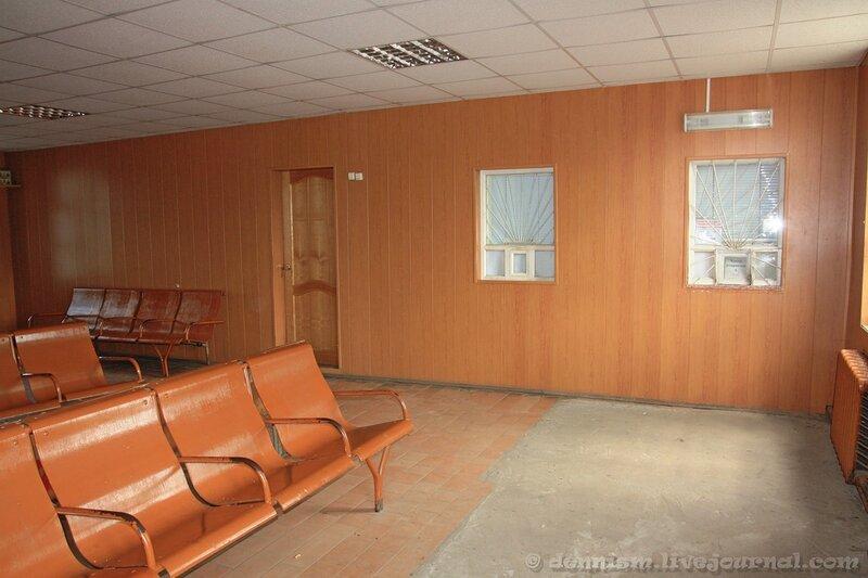 Вокзал станции Калязин. Зал ожидания.