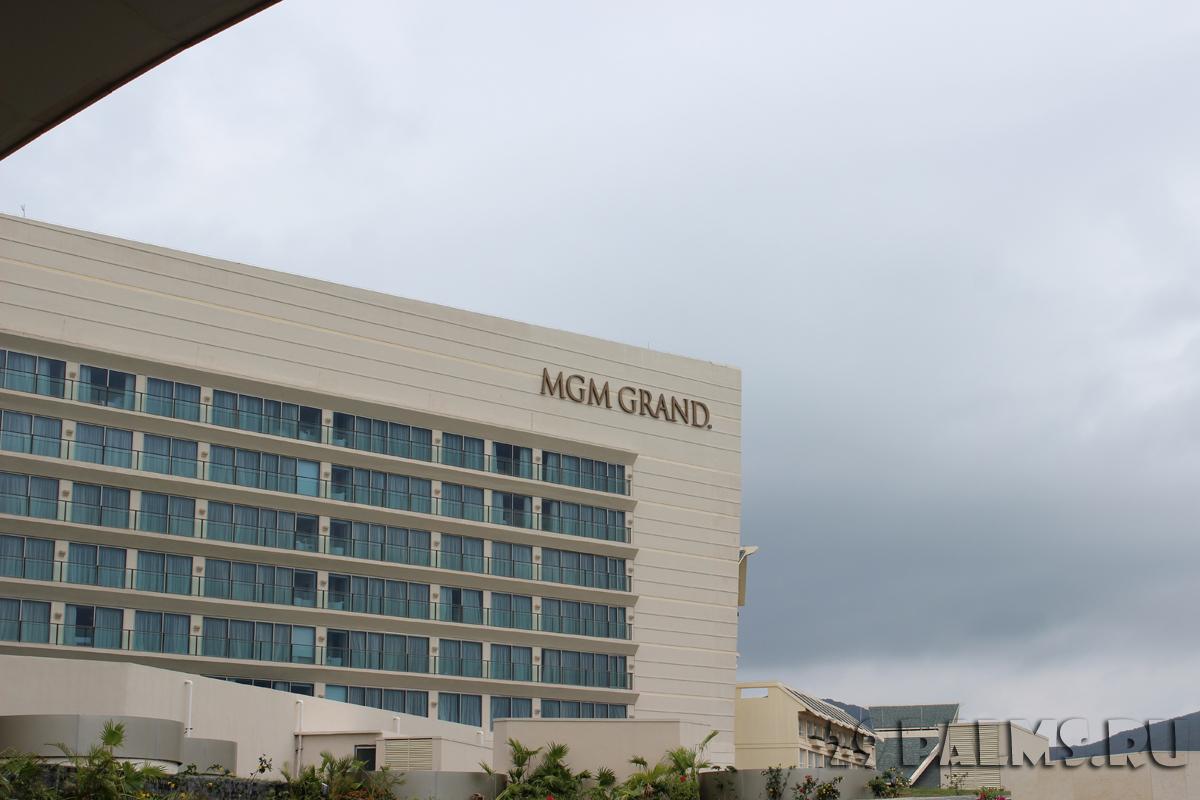 Китай о. Хайнань. Бухта Ялуньвань. MGM Grand Sanya 5*