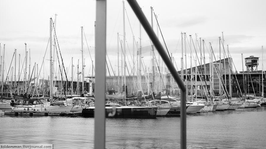 Яхты в Барселоне
