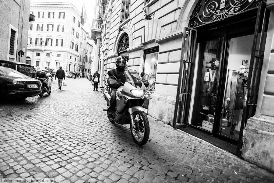 мотоцикл Рим