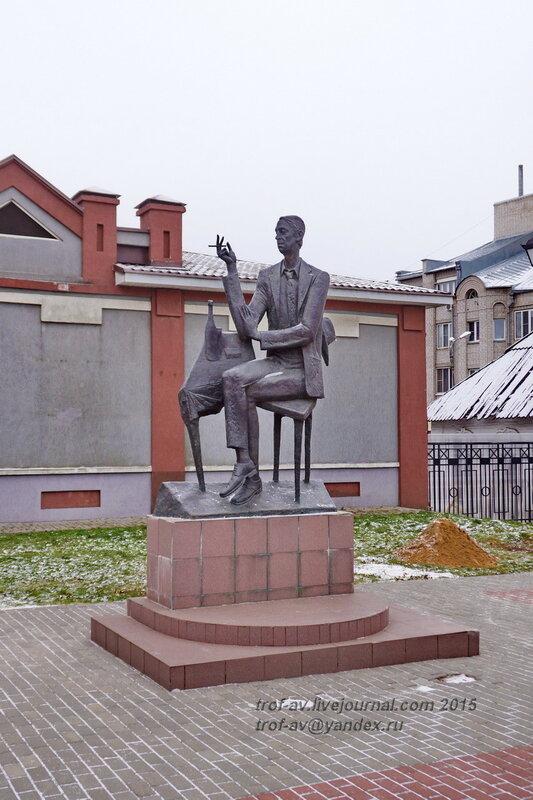 Арт-сквер, памятник Аркадию Северному, Иваново