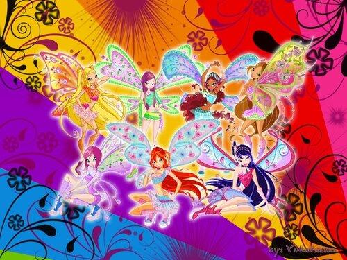 Винкс и Друзья ангелы, супер конкурс!
