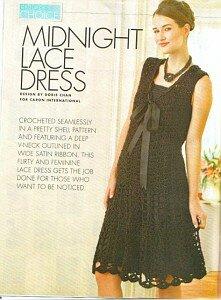 Midnight dress или изысканная простота от Lelu