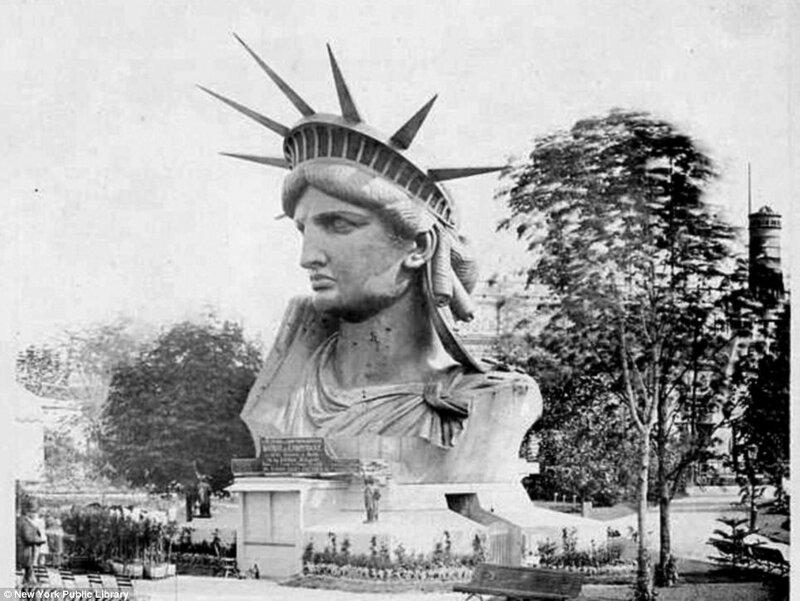 Как создавали Статую Свободы, статуя свободы, свобода, америка